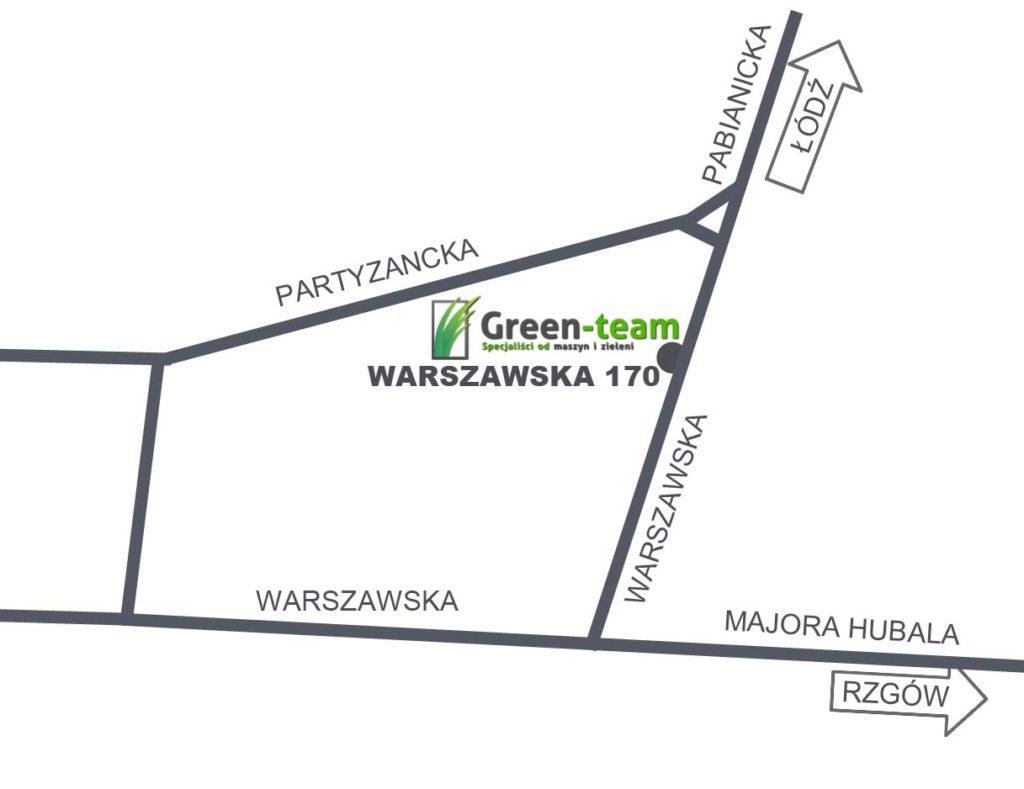mapa greenteam